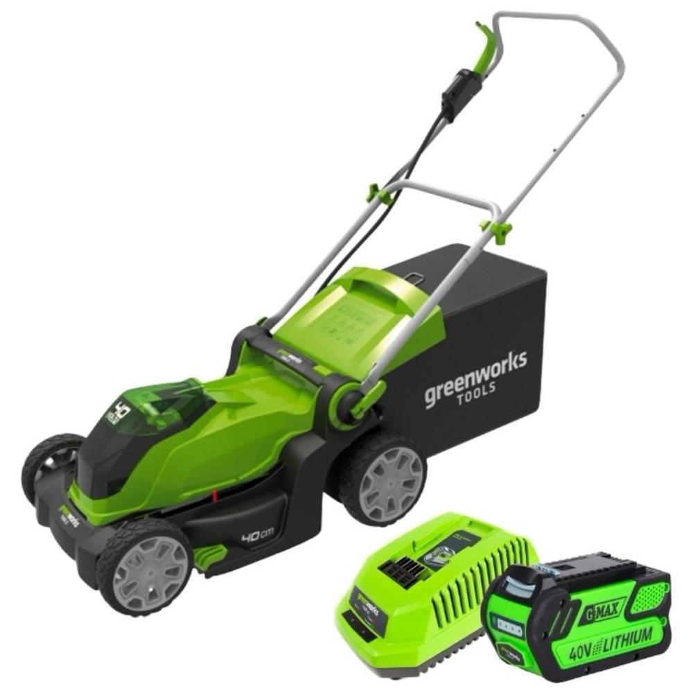 замок для газонокосилки аккумуляторной Greenworks