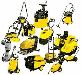 Ассортимент Karcher (Керхер) состоит из нескольких сотен единиц продукции, предназначенной как для профессионалов, так и для любителей