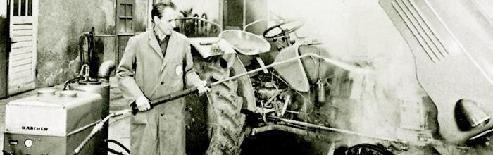 Инженеры компании Karcher (Керхер) первыми в Европе начали заниматься производством аппаратов (моек) высокого давления